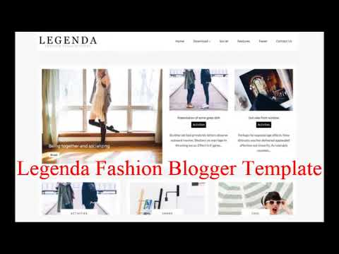Top 10 Premium Best Simple Blogger Templates Free Download