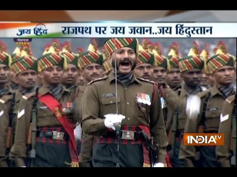 Republic Day celebrations: India showcase its military might in parade at Rajpath