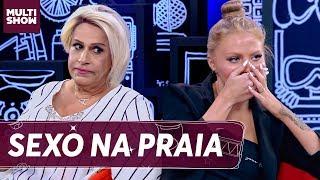 Luísa Sonza fala de SEXO NA PRAIA com Whindersson   Tom Cavalcante   Multi Tom   Humor Multishow