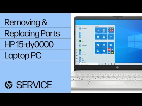 Service Teardown: HP 15-dy0000 Laptop PC | HP Computer Service | HP