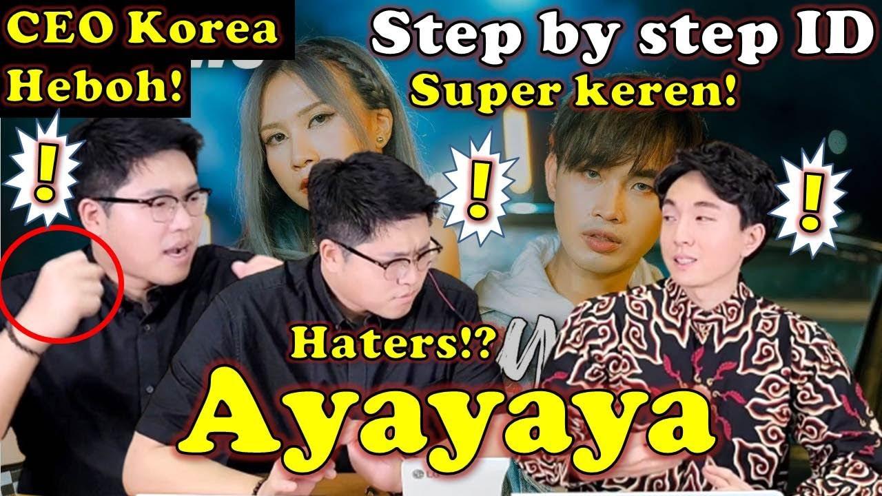 CEO KOREA HEBOH LIHAT Step by Step ID x Eka Gustiwana - Ayayaya (Get It) [Official Music Video]