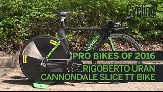 Pro bikes of 2016: Rigoberto Uran's Cannondale time trial bike