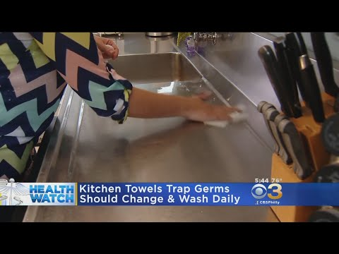 Research: Kitchen Towels Trap Germs, Should Be Changed Daily