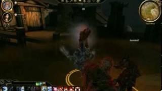 Dragon Age Origins: Awakening PC Gameplay ATi Mobility Radeon HD4570 512mb