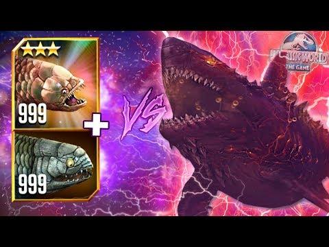 WORLD BOSS COLOSSUS 04 VS LVL 999 GILLICUS & RHIDOCUS! - Jurassic World - The Game | Ep. 169 HD