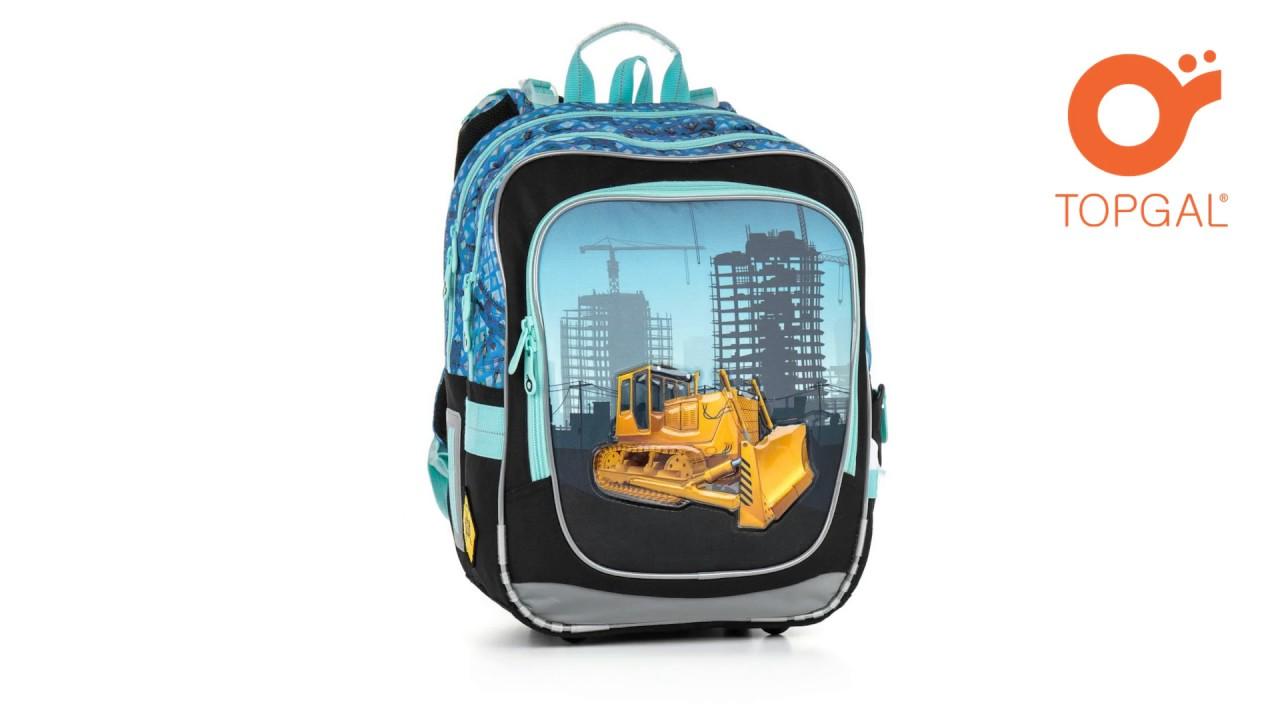 animace - školní batoh TOPGAL CHI 877 D - YouTube fd0103518b