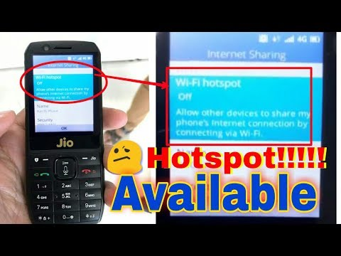 How to active hotspot in jio feature phone,Behind the hotspot secreat of JIO PHONE,