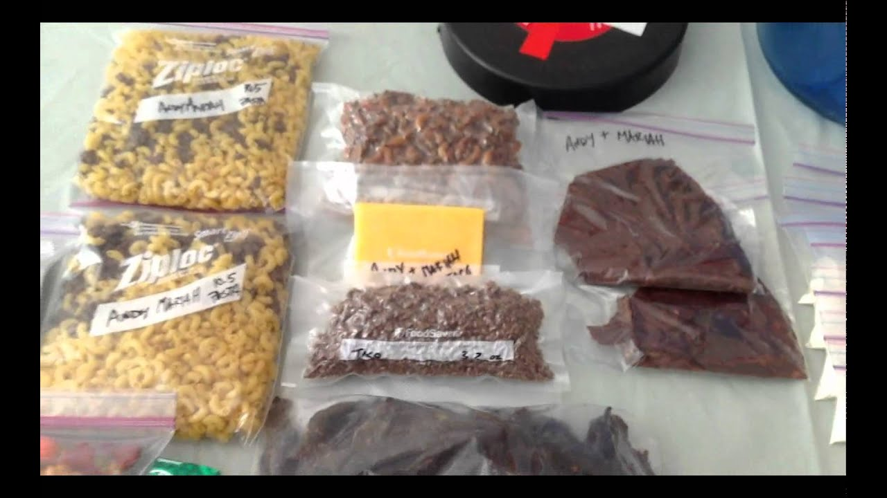 Make Your Own Backpacking Food