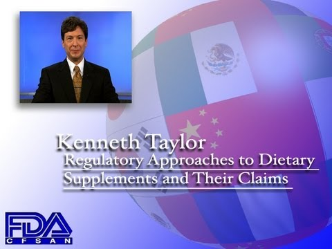 Regulatory Approaches to Dietary Supplements and their Claim