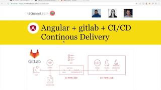 Angular Continuous Delivery / Deployment with gitlab-ci (stage + prod)