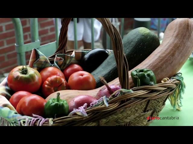 Exposición y degustación de productos de la huerta. Guarnizo. Cantabria