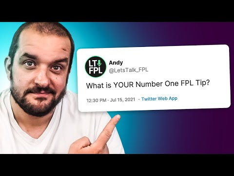 I asked 100 FPL Managers for the BEST FPL TIPS...