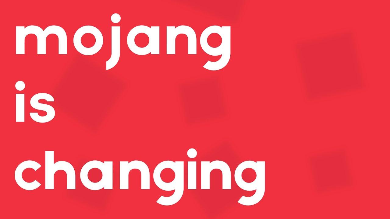 Mojang is no longer Mojang... (Mojang Studios) - YouTube