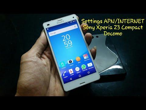 Cara Setting APN/INTERNET Sony Xperia Z3 Compact Docomo