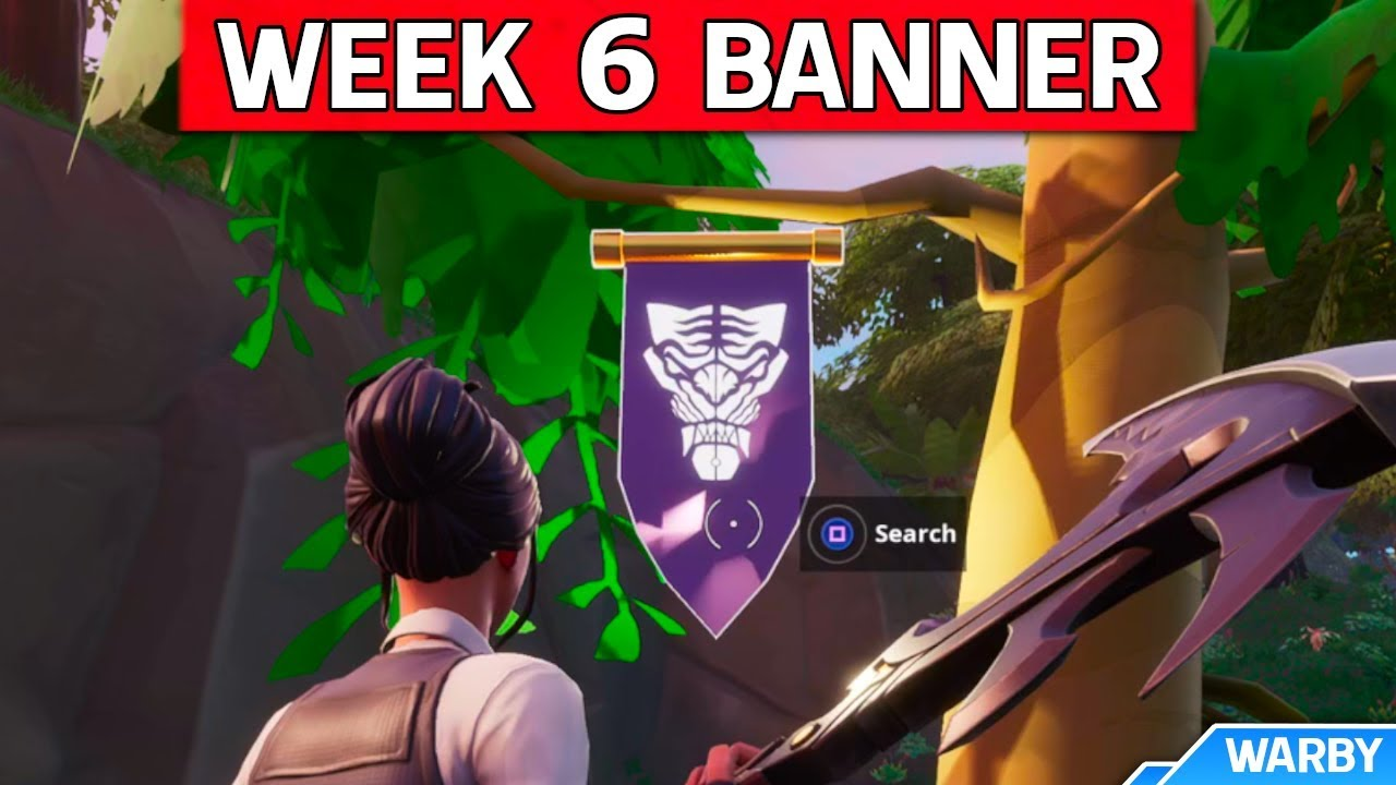 Secret Season 8 Week 6 Banner Location Guide Discovery Challenges