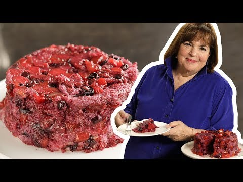 Barefoot Contessa Makes Peach And Berry Summer Pudding | Food Network
