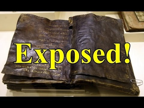 1500 Year Old TURKISH BIBLE EXPOSED