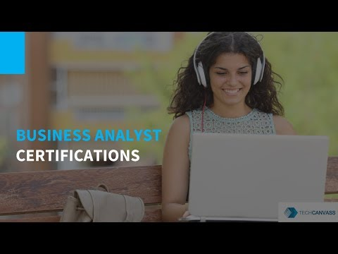 Business Analyst Certifications | Certifications for Business Analysts