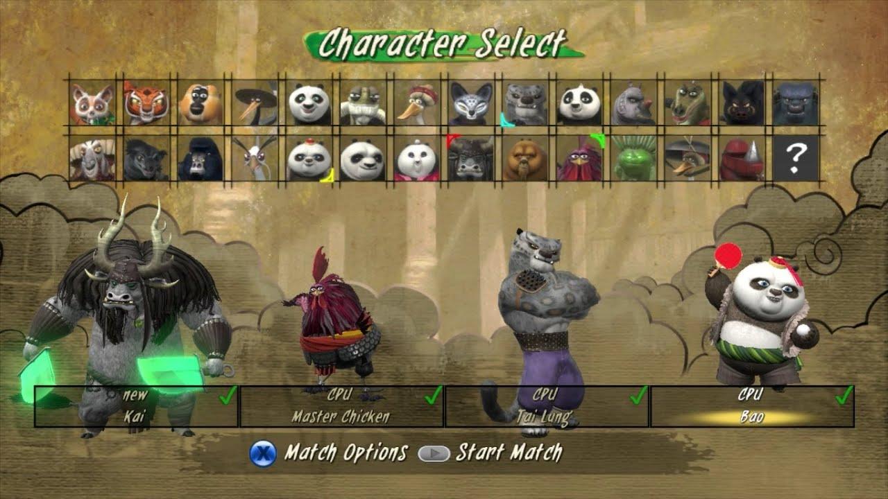 Kung Fu Panda Showdown Of Legendary Legends Kai Master