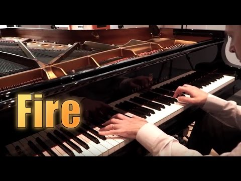 Fire - Barns Courtney (HQ-HD Piano cover play by ear)