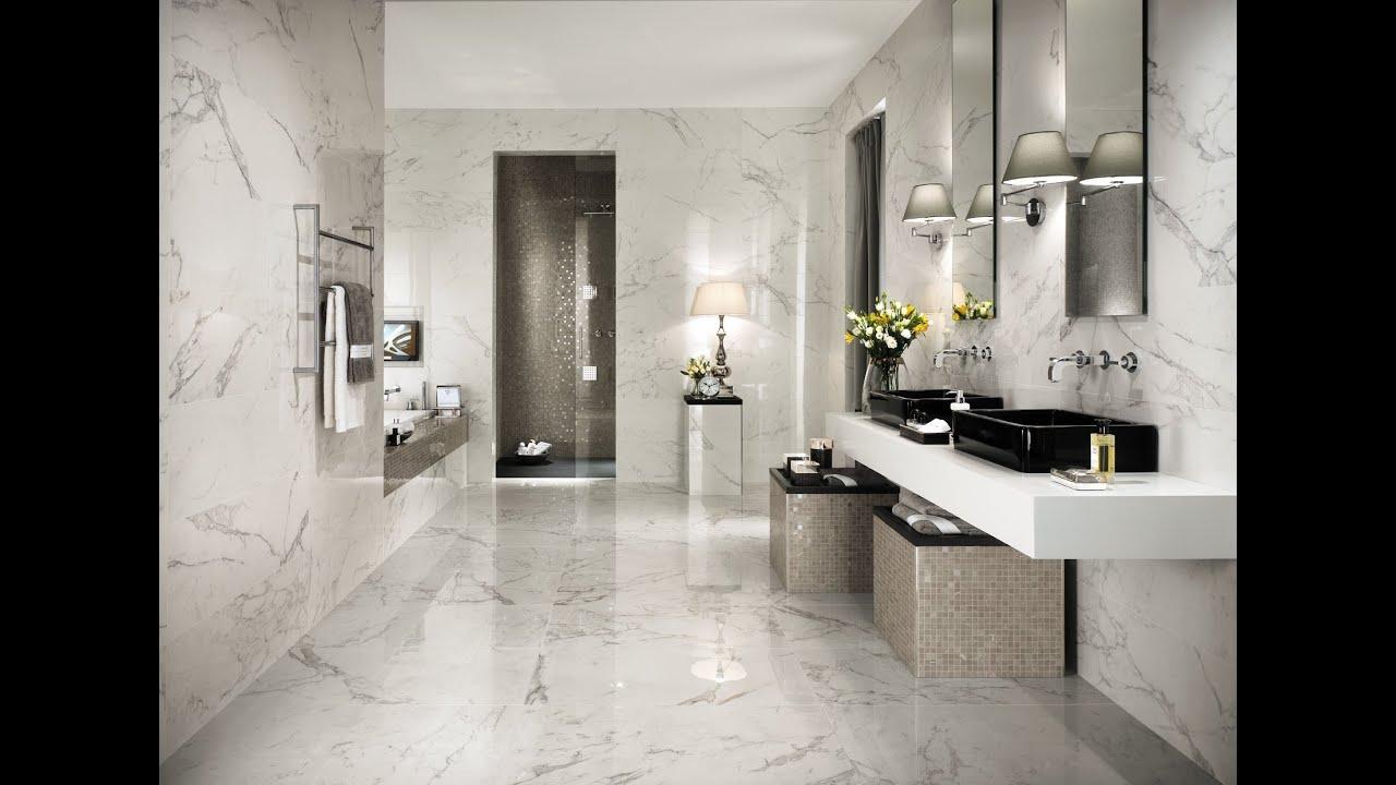 Atlas Marvel Calacatta Extra absolute brightness | marble look bathroom | marvel calacatta