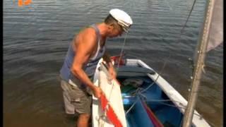 Костромич сам сделал яхту