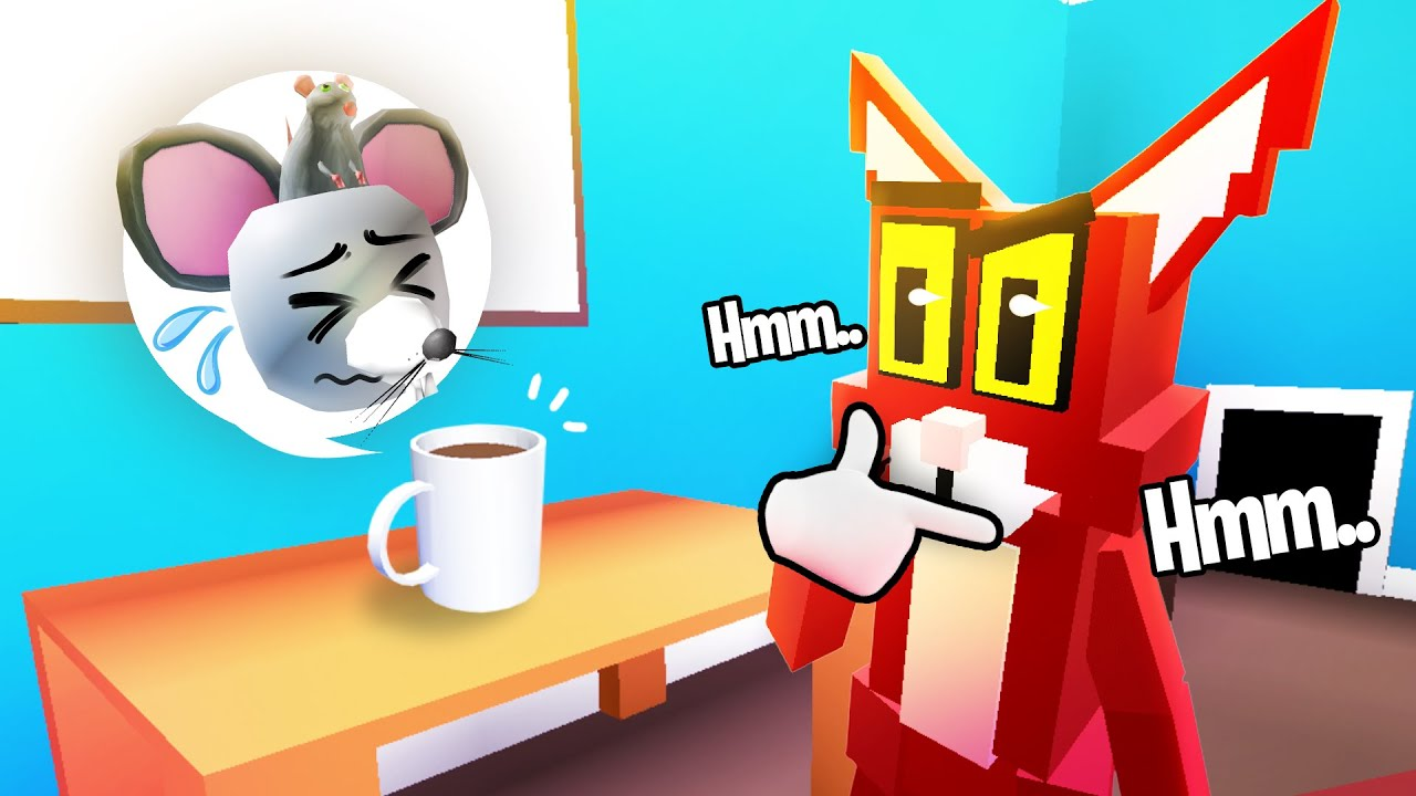 this Roblox kitty is going to eat me 😨😾