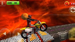 EXTREME BIKE TRIAL STUNTS 3D ANDROID GAME #Dirt Motor Cycle Racer #Bike Games 3D #Stunt Android Game