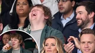 Lewis Capaldi at Wimbledon