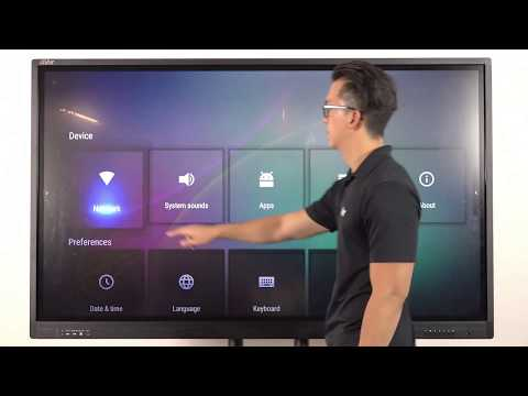 Guided Tour - New AVer CP Series Interactive Flat Panel
