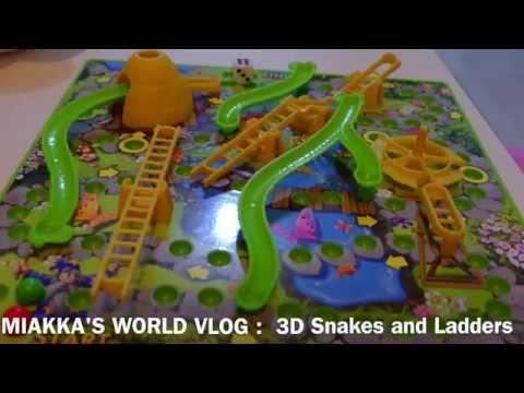 Miakka's World : 3D Snakes And Ladders