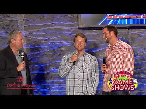 Adam Wainwright and Trevor Rosenthal sing