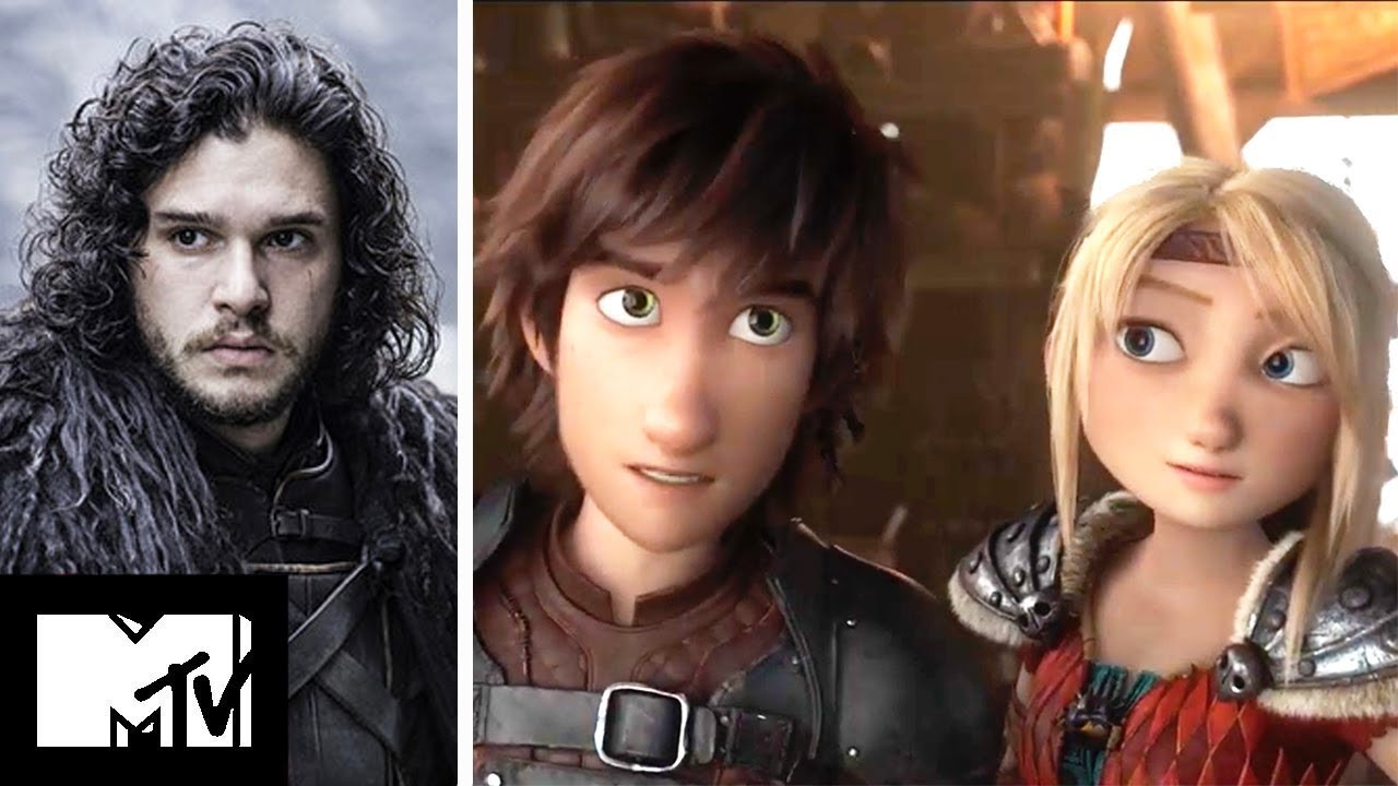 Kit Harington Stars In How To Train Your Dragon 3 Exclusive Mtv Movies Youtube