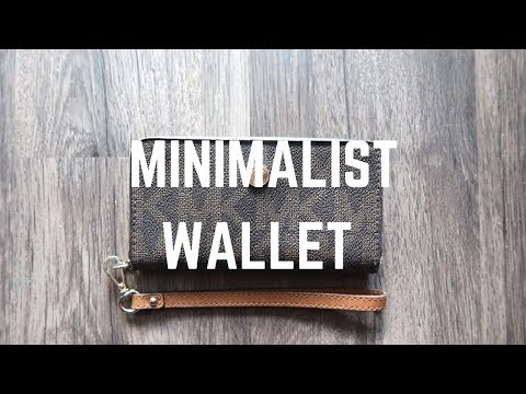MINIMALISM: WHAT'S IN MY WALLET