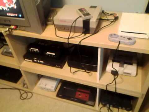Vgc 010 Retro Game Room 2016 Part 01 System Setup Youtube