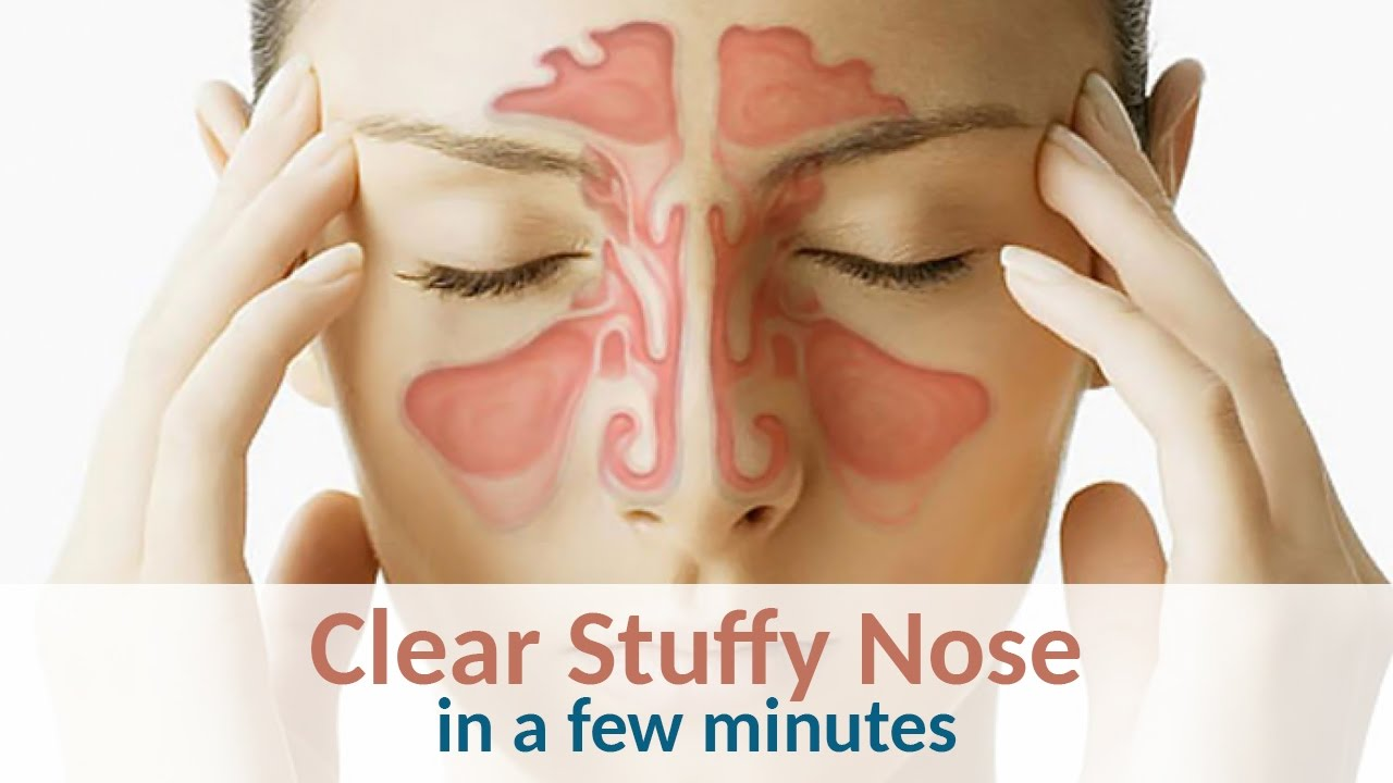 How to clear your nose 21