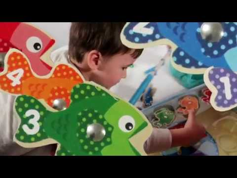 Melissa & Doug Catch & Count Magnetic Fishing Game | Learn To Count To Five!