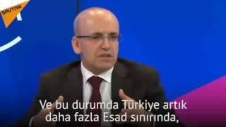 بالفيديو: نائب رئيس الحكومة التركي  يؤكد القبول ببقاء الأسد رغم نفي أنقرة