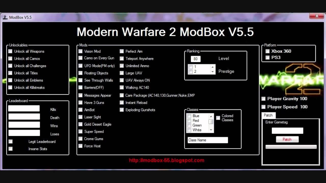 mw2 modbox v5