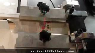 0.8mm Silver Sheet Laser Cutting, 50w Fiber Laser Cutting Machine+Jennifer+XT LASER