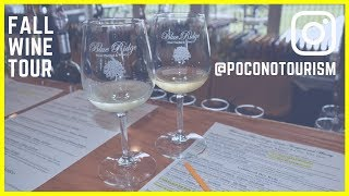 Fall Wine Tour in the Pocono Mountains