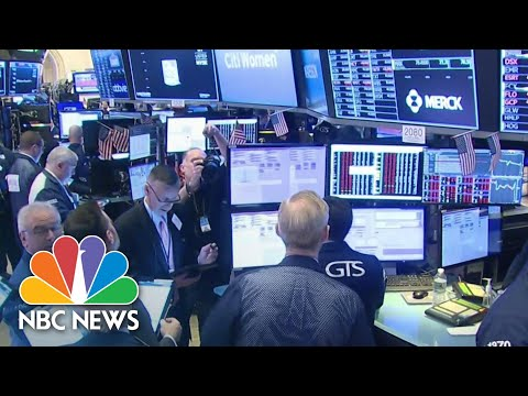 Stock Trading Halted After Markets Plunge At Market Open | NBC News