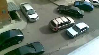 девушка за рулем))) +100500.mp4