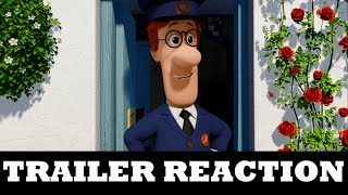 Postman Pat: The Movie - Official Trailer (REACTION)