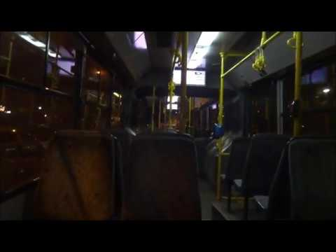Athens Bus: Riding a Volvo/Sarakakis B7LA (articullated) (2)