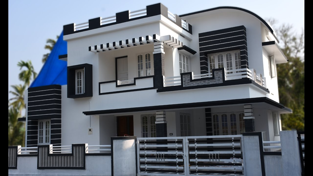 Athani 5 cents plot and 1700 sq ft contemporary house youtube - Modern home pictures ...