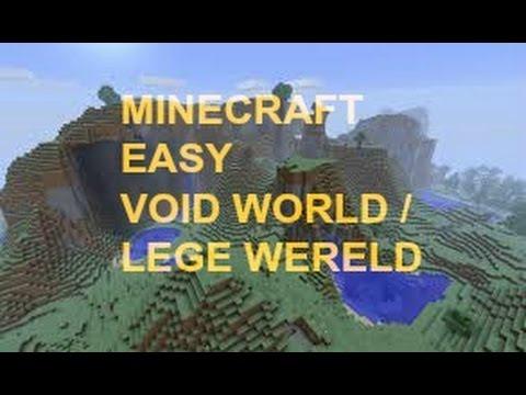 Minecraft - Lege wereld / Void World maken [Makkelijk ...