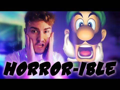 Luigi's Mansion for 3DS Hurts Me