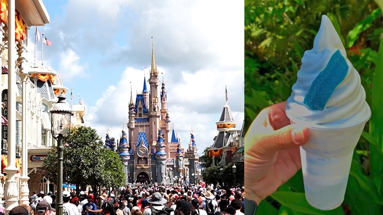 Halloween Decorations Have Started Going Up At Disney's Magic Kingdom + New Snack & New Ears!
