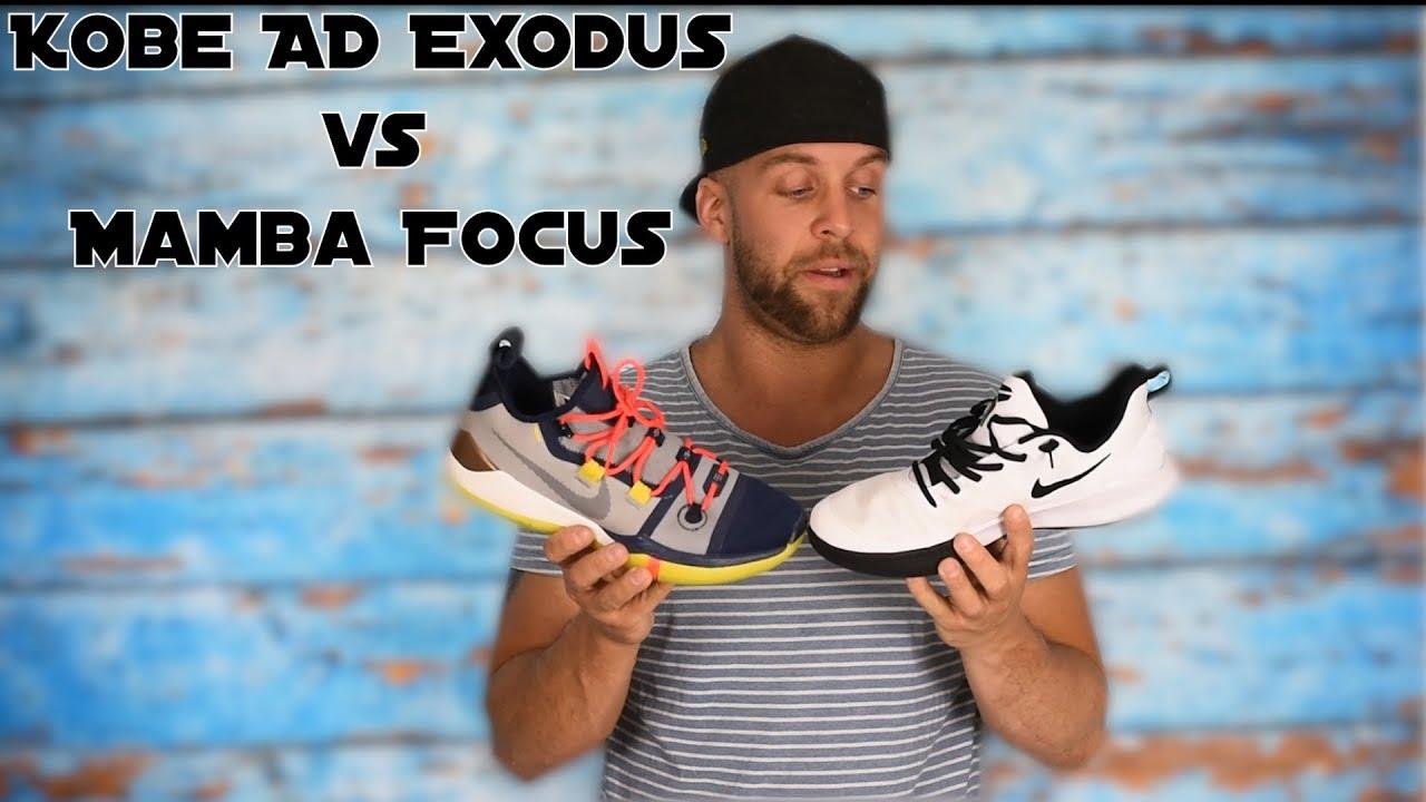 9d4d5d7782d0 Nike Kobe AD Exodus Vs Mamba Focus - Welcher Kobe ist besser  - YouTube
